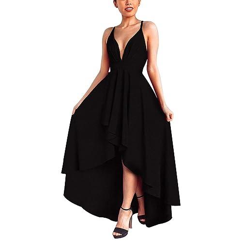 Vestiti Neri Eleganti.Abito Donna Pizzo Nero Amazon It