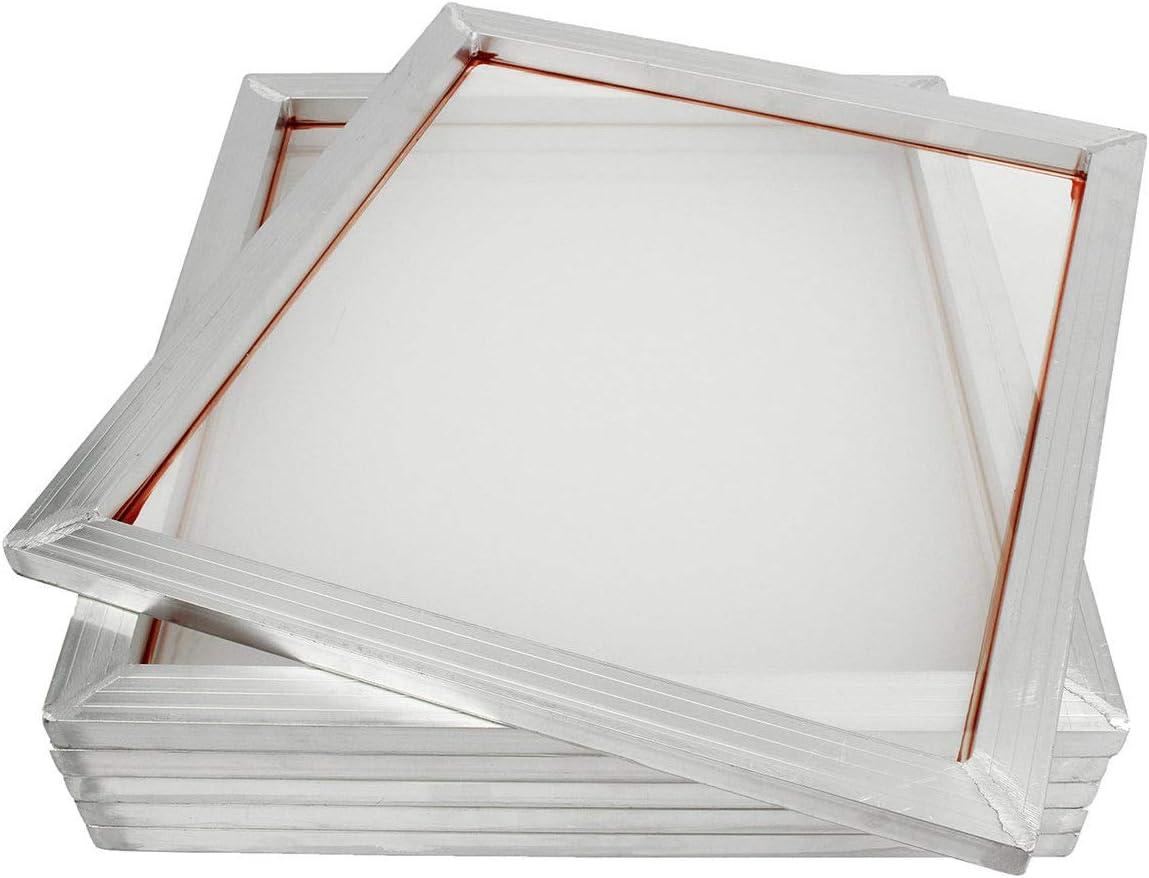 INTSUPERMAI 6PCS 8x10 inch Excellent Aluminum Inexpensive Screen Pre-Stretc Frame Silk