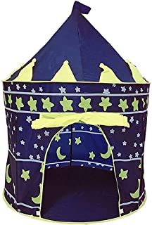 AMERTEER Children Castle POP UP Tent for Indoor/Outdoor play for prince and princess, Playhouse Durable Space Design for B...