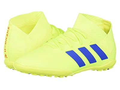 adidas Kids Nemeziz 18.3 TF Soccer (Little Kid/Big Kid) (Solar Yellow/Blue/Active Red) Kids Shoes