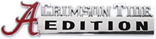 NCAA Collegiate Edition ABS Molded Chrome Auto Emblem (Alabama)