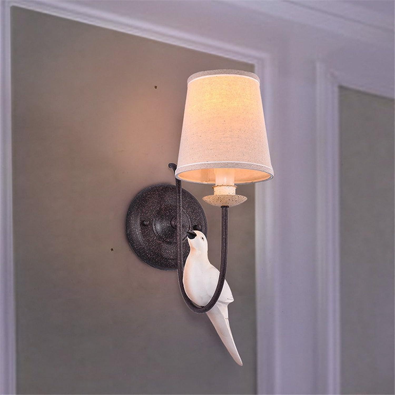 StiefelU LED Wandleuchte nach oben und unten Wandleuchten Grüne Wohnzimmer Wand Lampen antik Nachttischlampe Schlafzimmer einzigen Birdie Wandleuchten, 150 mm  250 mm.