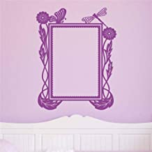 cinauc Vinyl Wall Statement Family DIY Decor Art Stickers Home Decor Wall Art Natural Picture Frame for Living Room Bedroom