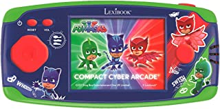 Lexibook Compact Cyber Arcade Portable Console, 150 Gaming, LCD, Battery Operated, Green/red, JL2365PJM