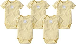 Burt's Bees Baby Baby Girls' 5 Pack Essentials Solid...