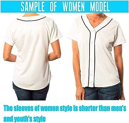 QimeiJer - Camiseta de béisbol Personalizada, diseño de ...