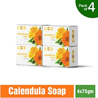 Richfeel Calendula Soap for Acne, 75g (Buy 3 Get 1 Free)