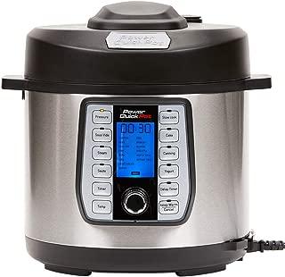 Power Quick Pot 8 QT 37 - in -1 Multi- Use Programmable Pressure Cooker, Slow Cooker, Rice Cooker, Yogurt Maker, Cake Maker, Egg Cooker, Baking, Sauté/Sear, Steamer, Hot Pot, Sous Vide and Warmer