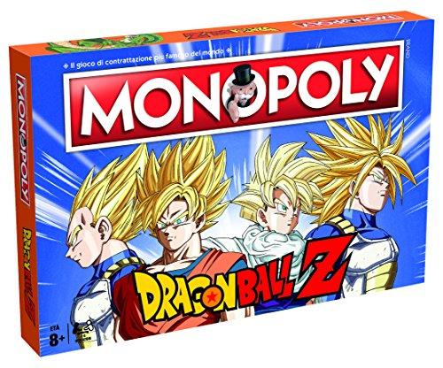Winning Moves - Juego de Mesa Monopoly Dragon Ball-ITA, 29896.