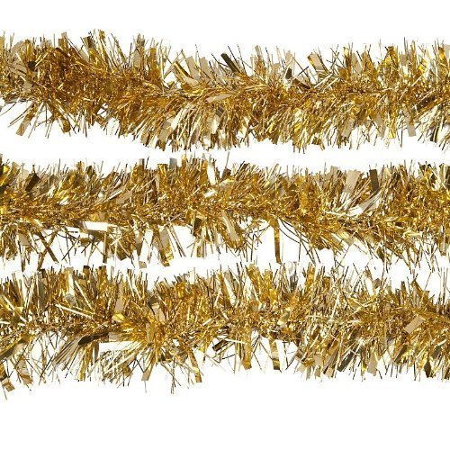 Christmas Tinsel Tree Decorations Tinsel Garland Gold Durable and Useful