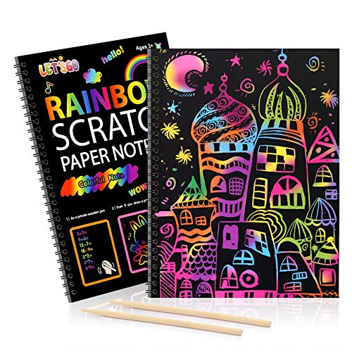 Dreamingbox 2 3 4 5 6 7 8-10 Year Boys Girls, Scratch Arts and Crafts for...