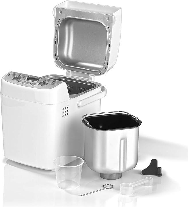 Gourmetmaxx macchina del pane funzione timer 01383 bianco