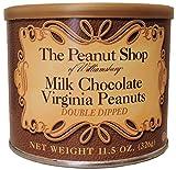 The Peanut Shop of Williamsburg Milk Chocolate Virginia Peanuts - 11.5 oz