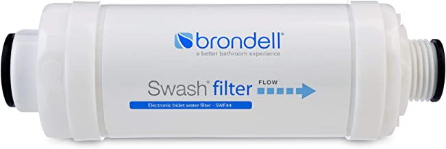 Brondell SWF44 Swash Bidet Filter - Premium Bidet Filter for Electronic Bidet Toilet Seats