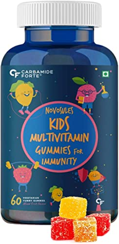Carbamide Forte Multivitamin Gummies for Kids Adults with Superfoods 60 Gummies