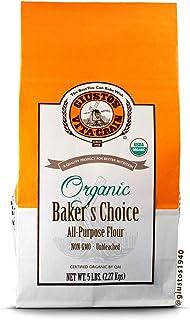 Giusto's Vita-Grain Organic Baker's Choice Unbleached All-Purpose Flour, 5lb Bag