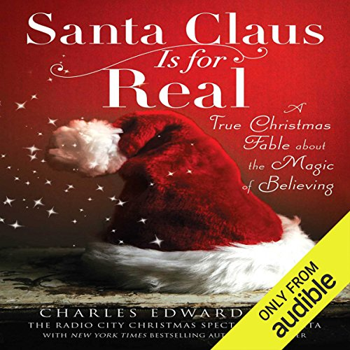 Santa Claus Is for Real audiobook cover art