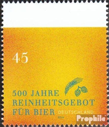 Prophila Collection BRD (BR.Deutschland) 3229 (kompl.Ausg.) 2016 Reinheitsgebot für Bier (Briefmarken für Sammler)