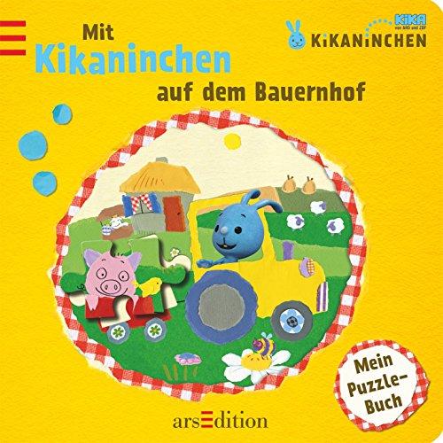 Kikaninchen - Mit Kikaninchen auf dem Bauernhof: Mein Puzzle-Buch