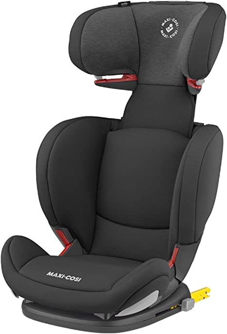 Maxi-Cosi RodiFix AirProtect Child Car Seat, ISOFIX Booster Seat, Extra Protection, 3.5 - 12 Years, 15-36 kg, Authentic Black: image