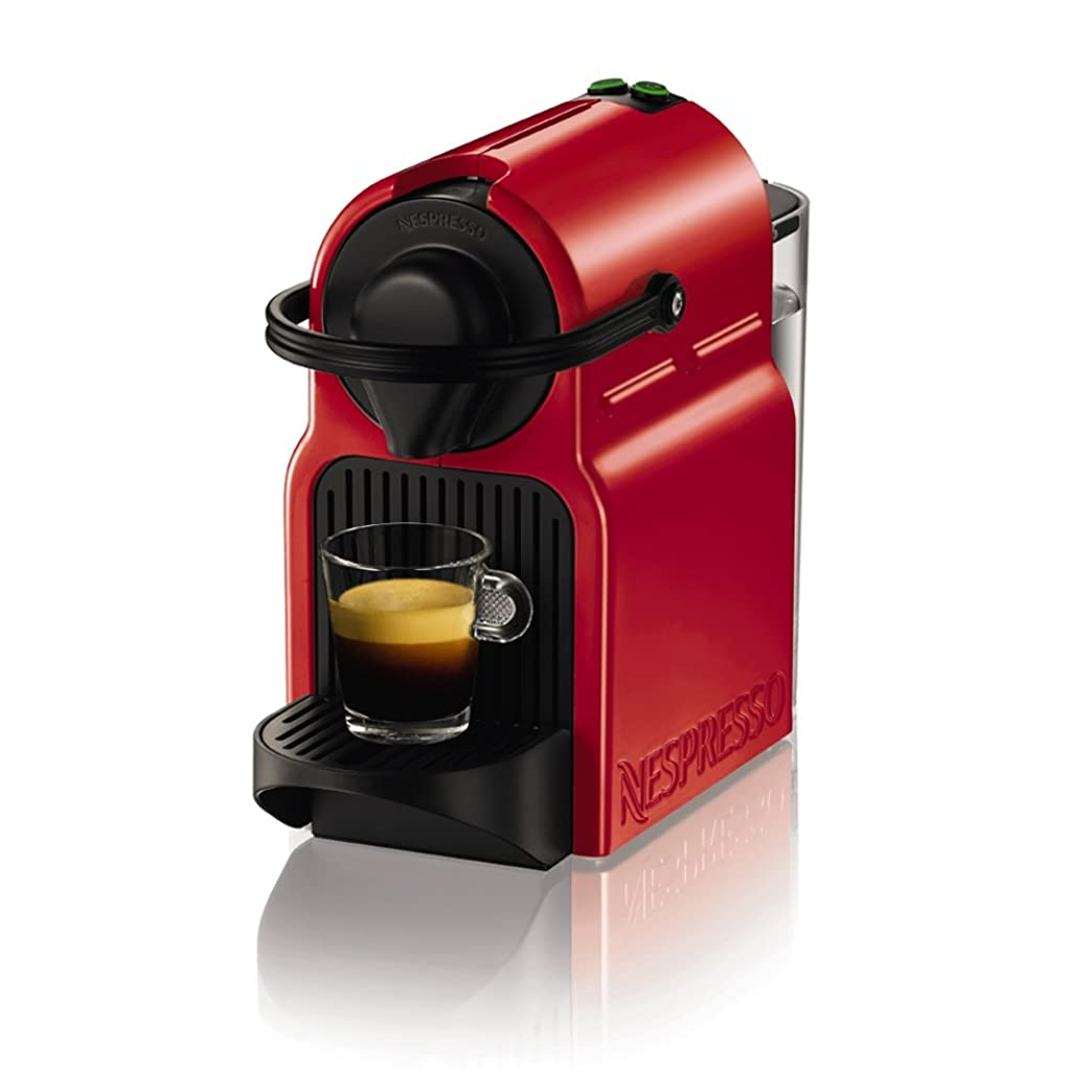 発掘するタヒチ驚いたネスプレッソ コーヒーメーカー イニッシア ルビーレッド C40RE