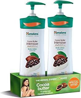 Himalaya Body Lotion Intensive Cocoa Butter, 2 x 400 ml
