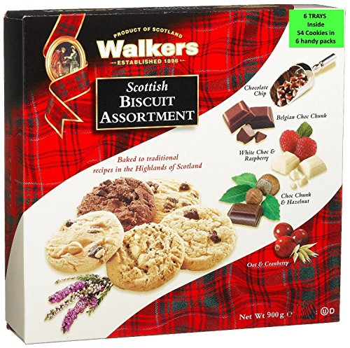 Walkers Shortbread Scottish Biscuit Surtido, caja de 900 g