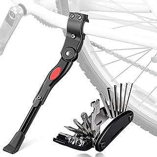 comprar comparacion Oziral Pata de Cabra de Bicicleta con Herramienta Multifunción, Universal Ajustable Bicicleta Kickstand