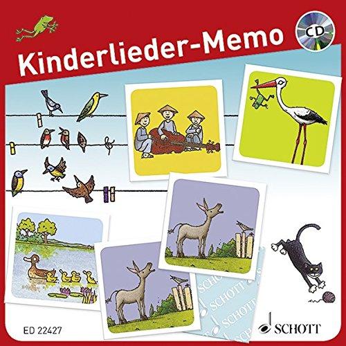 Schott Publishing Kinderlieder-Memo