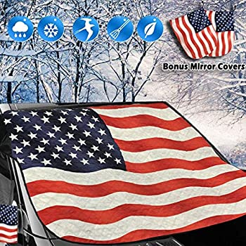 Big Ant American Flag Windshield & Mirror Cover