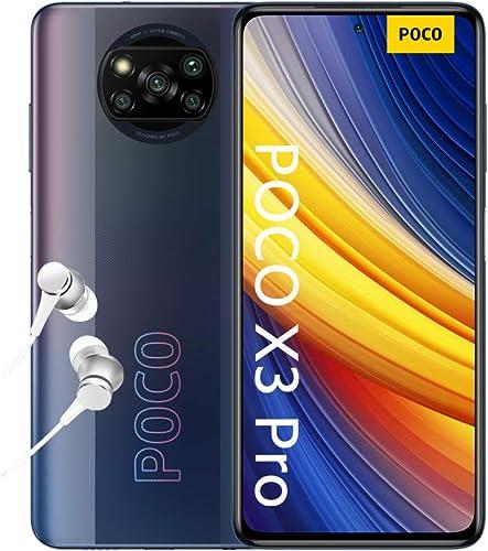 "POCO X3 Pro - Smartphone 8+256GB, 6,67"" 120Hz FHD+ DotDisplay, Snapdragon 860, 48MP Quad Caméra, 5160mAh, Noir Fantôm..."