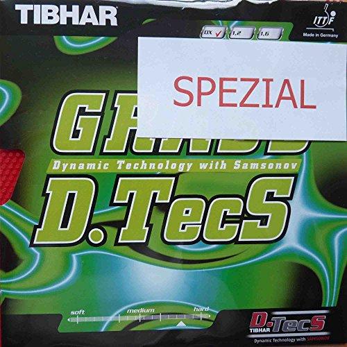 Tibhar Belag Grass D.Tecs Spezial, rot, OX