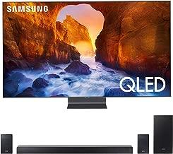 """$4997 » Samsung QN82Q90RA 82"""" Q90 QLED Smart 4K UHD TV (2019 Model) - (Renewed) Bundle with HW-Q60R 360W Virtual 5.1-Channel Soundbar System"""