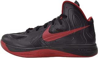 Nike Men's Hyperfuse TB, BLACK/GYM RED-BLACK PACK, 12 M US