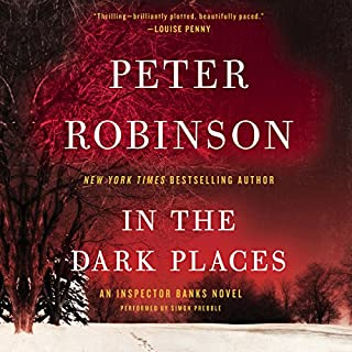 In the Dark Places audiobook cover art