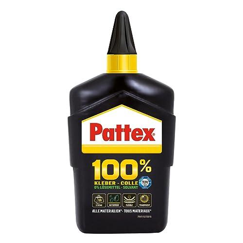 """Pattex 1541276 Colle """"100%"""" bouteille 200 g, Noir"""