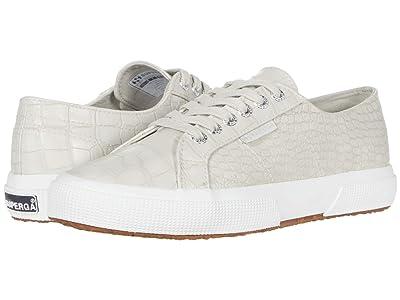 Superga 2750 Syntcrocod Sneaker (Taupe Croco) Women