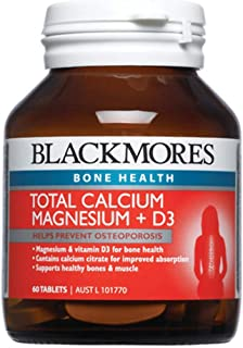 Blackmores Total Calcium + Magnesium + D3  (60 Tablets)