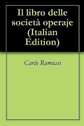 Il libro delle società operaje