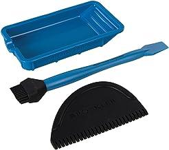 ROCKLER 560929 siliconen lijm accessoires, 3-delig set, blauw