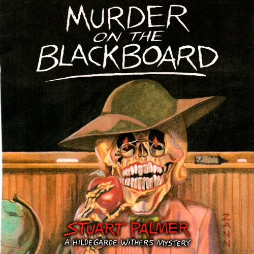 Murder on the Blackboard audiobook cover art