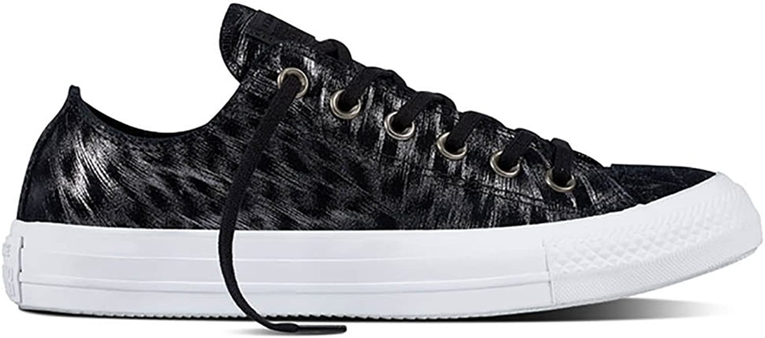 Converse All Star Ox Womens Sneakers Black Size 8 M