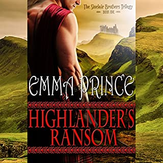 Highlander's Ransom audiobook cover art