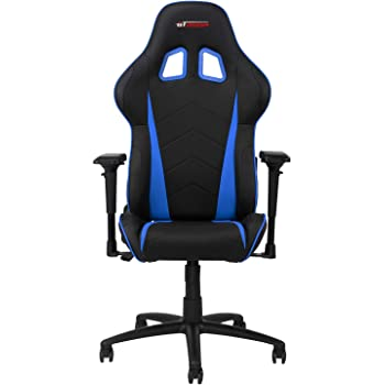 GT OMEGA PRO Racing Gaming Chair with Ergonomic Lumbar Support PVC Leather Reclining High Back Home Office Chair with Swivel PC Gaming Desk Chair