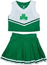 Creative Knitwear Irish Baby Shamrock Cheerleading Outfit
