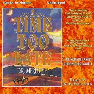 A Time Too Late audiobook cover art