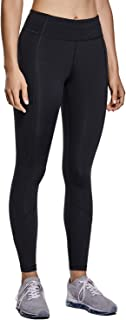 CRZ YOGA Non See-Through Mid Rise Athletic Compression Leggings for Women 7/8 Hugged Feeling Workout Running Tights-25 Inches