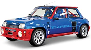 Bburago- Coche Metal Renault 5 Turbo Color Rojo Escala 1:24, roja (15621088BL)