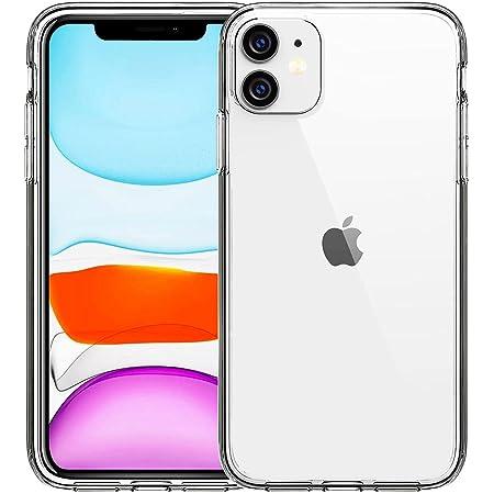FanTEK Compatible for iPhone 11 Case, Clear Crystal TPU Phone Cases Compatible with iPhone 11 6.1 Inch