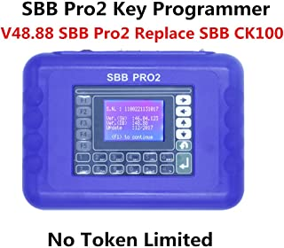 WBTOOLS SBB Pro2 Key Programmer v48.88 Auto Key Programmer Immobilizer Newest Generation SBB CK100 Key Programmer No Token Limited